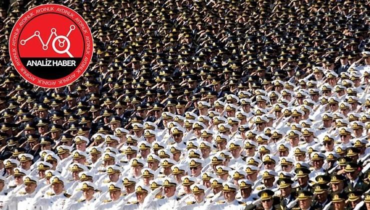 YAŞ'ta terörle mücadeleyi yöneten komutanlara terfi