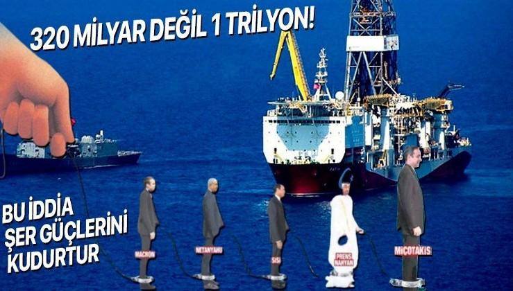 Yunanistan ve Fransa'yı kudurtacak haber! Karadeniz'de bulunan doğalgaz 320 milyar metreküp değil 1 trilyon!