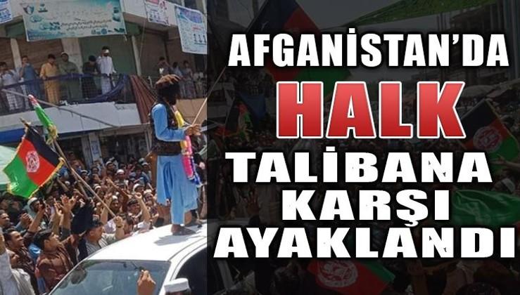 Afgan halkı ayaklandı.