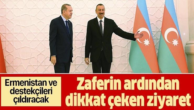 Erdoğan'da Azerbaycan'a kritik ziyaret! Tarih belli oldu