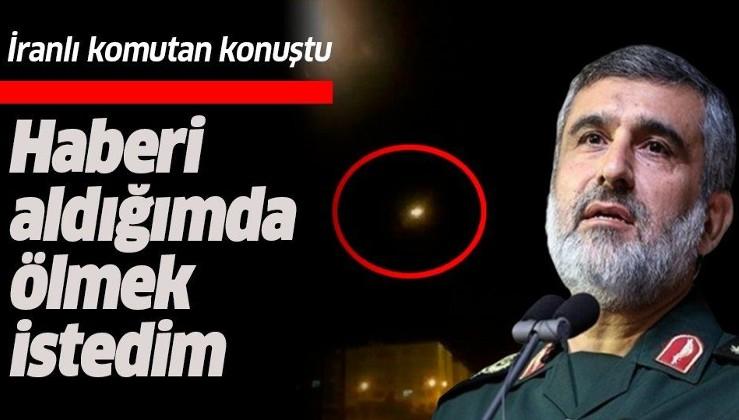 İran Hava Kuvvetleri Komutanı Hacızade: Haberi aldığımda ölmek istedim.