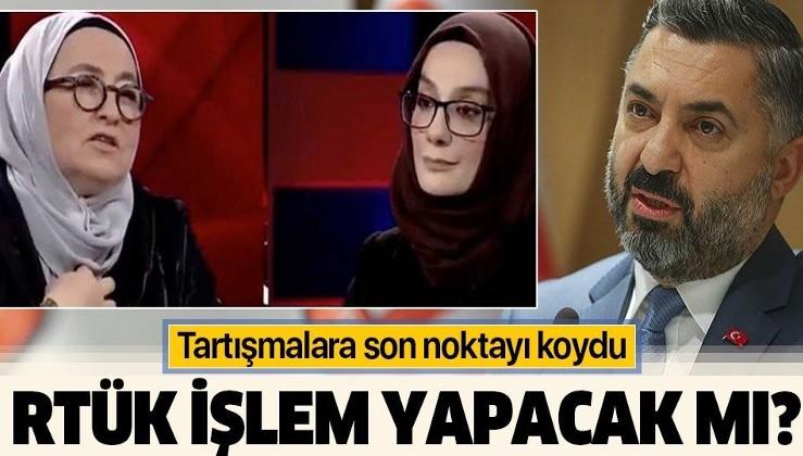 RTÜK Başkanı Ebubekir Şahin'den Sevda Noyan'ın Ülke TV'deki sözlerine ilişkin açıklama: Gereği yapılacaktır