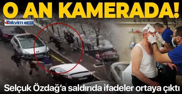 SON DAKİKA: Gelecek Partisi Genel Başkan Yardımcısı Selçuk Özdağ'a saldırı anının görüntüleri ortaya çıktı!