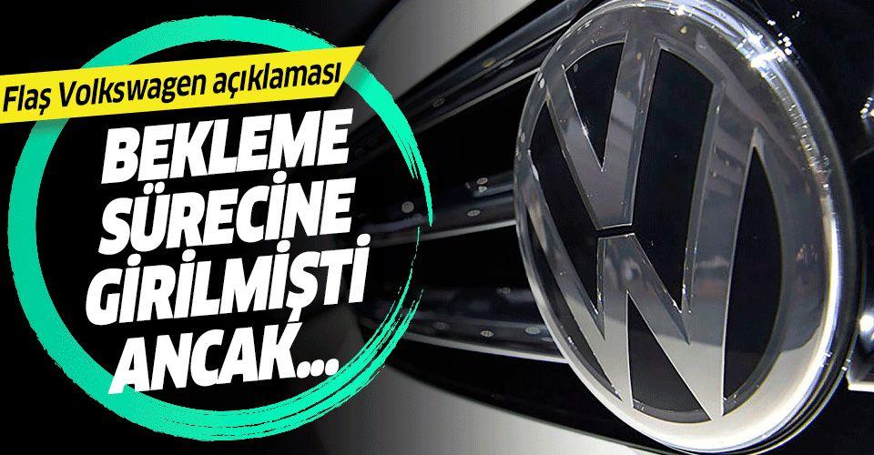 Arda Ermut'tan flaş Volkswagen açıklaması: Lehimize sonuçlanacak.
