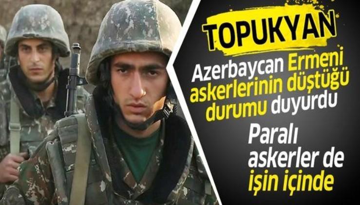 Azerbaycan vuruyor, çaresiz kalan Ermeni askerleri toplu halde firar ediyor