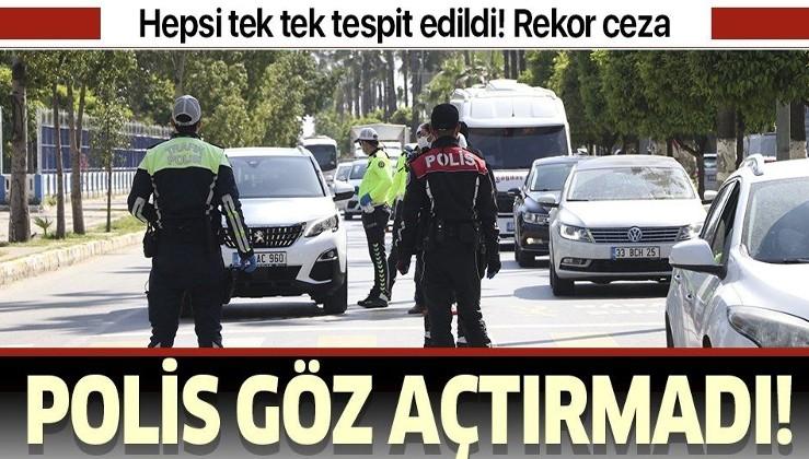 Bakanlık açıkladı: Sokağa çıkma kısıtlaması öncesi 6 bin 434 kişiye ceza kesildi