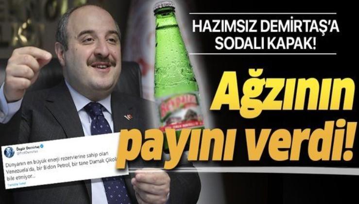 Bakan Mustafa Varank'tan Türkiye'yi küçümseyen liBOŞ Özgür Demirtaş'a tarihi kapak