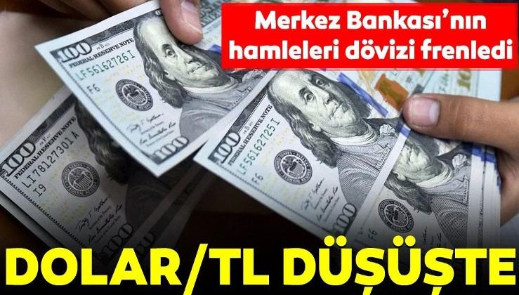 Dolar/TL düşüş eğiliminde! İşte güncel döviz kurları