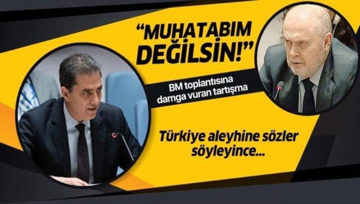 BMGK'da gergin anlar! Türkiye aleyhinde konusşunca....