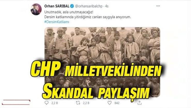 CHP milletvekilinden skandal paylaşım