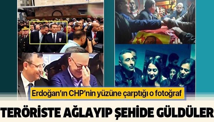 Erdoğan CHP'li Ali Mahir Başarır'a şehit cenazesindeki fotoğrafı hatırlattı: Ahlaksız adam, pişmiş kelle gibi sırıtıyor