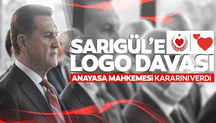 Sarıgül'ün partisine logo davasında flaş gelişme! Benzerlik...