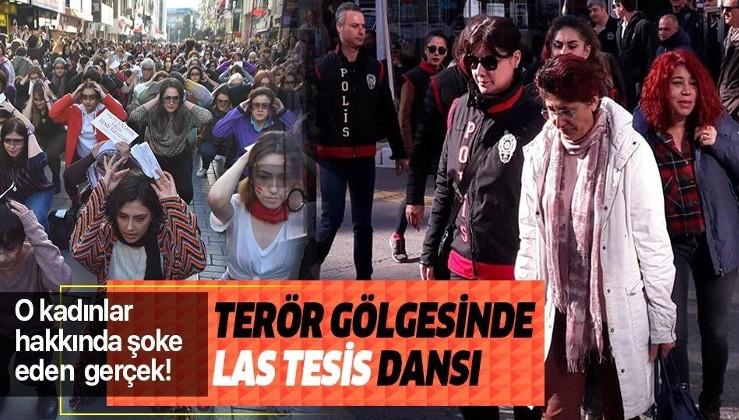 İzmir'de 'Las Tesis' dansı, kadına şiddeti önlemek için değil teröre hizmet için kullanılmış.