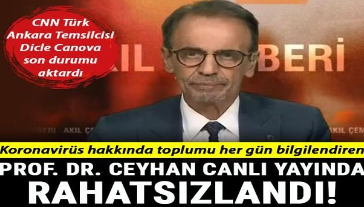 Son dakika haberi: Prof. Dr. Mehmet Ceyhan canlı yayında rahatsızlandı! Sağlık durumu hakkında ilk açıklama
