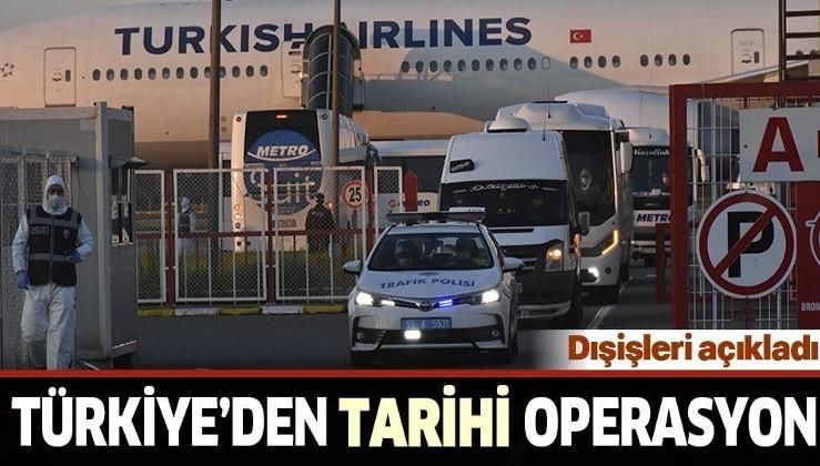 Son dakika: 75'ten fazla ülkeden 40 bini aşkın Türk vatandaşı yurda getirildi