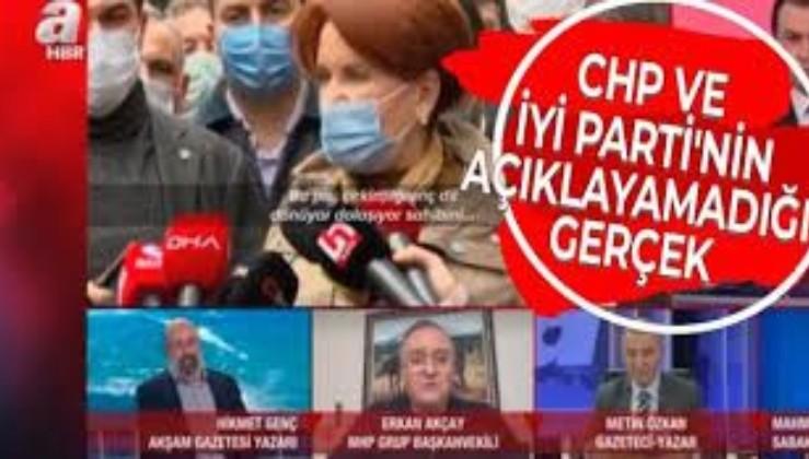 """""""CHP ve İYİ Parti, HDP'nin Millet İttifakı'nın neresinde olduğunu kamuoyuna izah edemiyor"""""""
