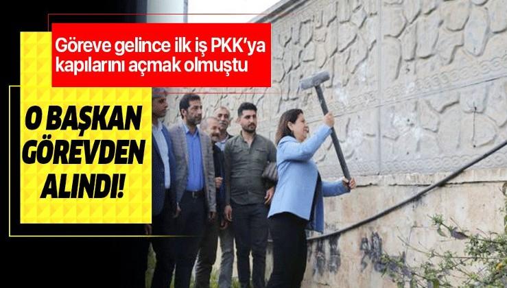 Güzel haber: PKK'ya kapılarını açan Nilüfer Elik Yılmaz görevden uzaklaştırıldı.