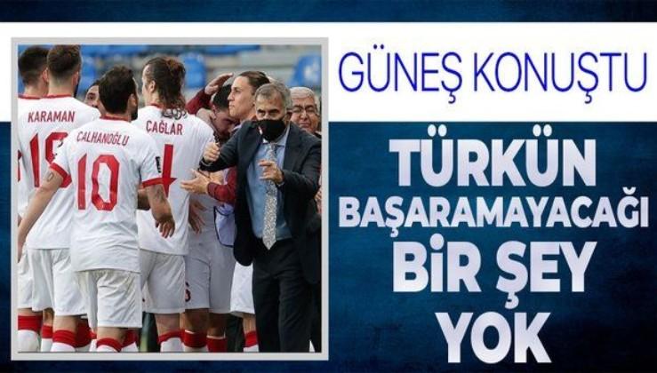 Şenol Güneş'ten flaş açıklamalar: Türk insanının başaramayacağı bir şey yok