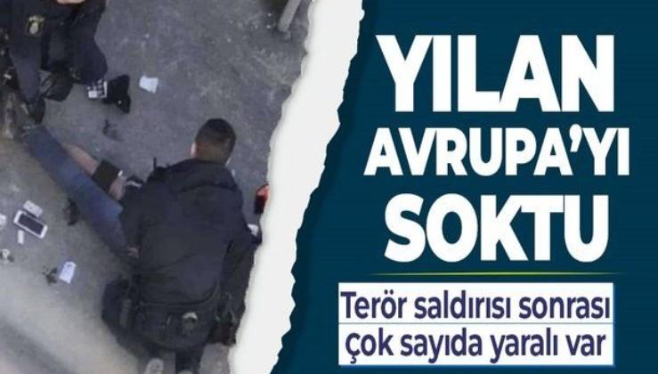 Son dakika! Avrupa'da terör saldırısı: Çok sayıda yaralı var