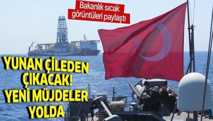 Türkiye baskılara boyun eğmiyor! MSB bölgeden sıcak görüntüleri paylaştı