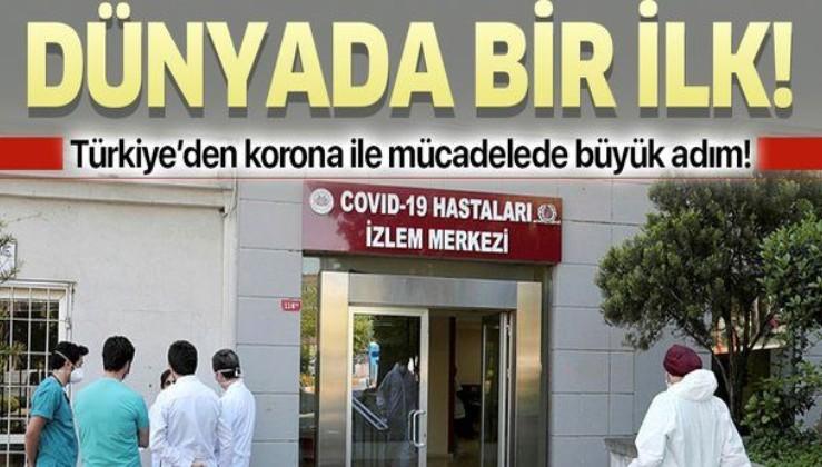 """Türkiye'den koronavirüsle mücadelede önemli hamle! Dünyanın ilk """"Covid-19 Hastaları İzlem Merkezi"""" İstanbul Tıp Fakültesi'nde açıldı!"""