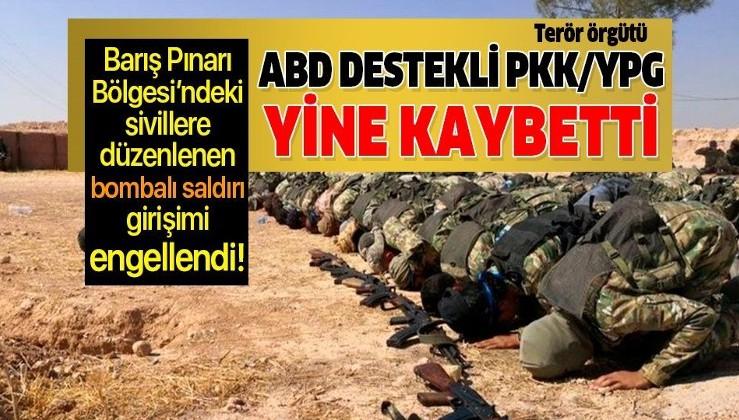 Barış Pınarı Bölgesi'ne PKK/YPG tarafından düzenlenen bombalı terör saldırısı önlendi