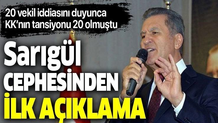 CHP'li 20 milletvekili Mustafa Sarıgül'ün partisine mi geçiyor? Bomba iddia hakkında Sarıgül cephesinden flaş açıklama