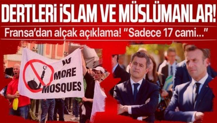 Dertleri İslam ve Müslümanlar! Fransa İçişleri Bakanı Gerald Darmanin'den alçak açıklama