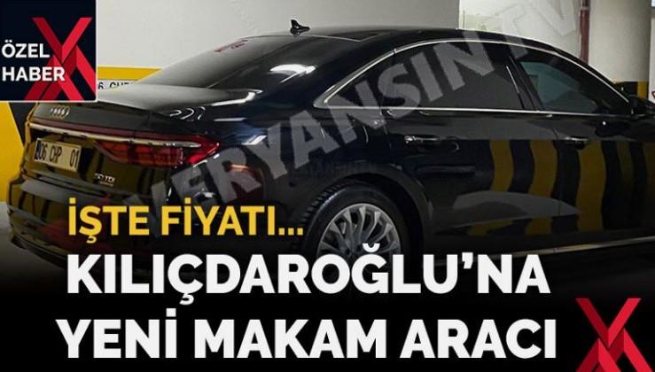 Kemal Kılıçdaroğlu'na yeni makam aracı… İşte fiyatı…