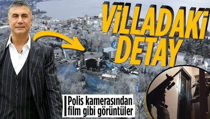 SON DAKİKA: Sedat Peker'in villasına baskın! Brandayla gizlenen yer dikkatlerden kaçmadı! Operasyon polis kamerasında