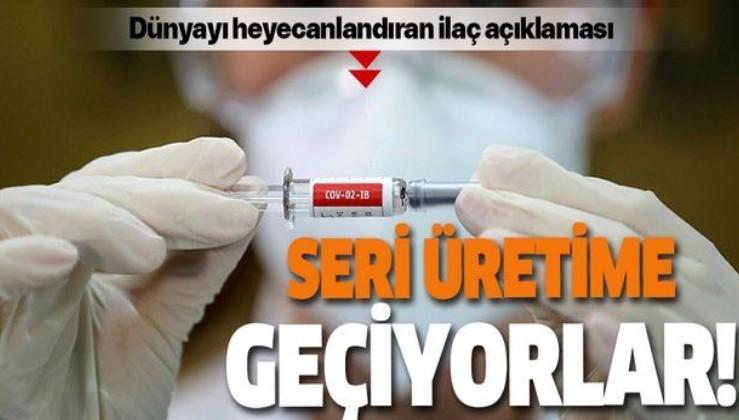 Güney Kore koronavirüs antikor ilaçlarının seri üretimine geçmeyi planlıyor