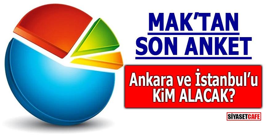 MAK'tan son anket! Ankara ve İstanbul'u kim alacak?