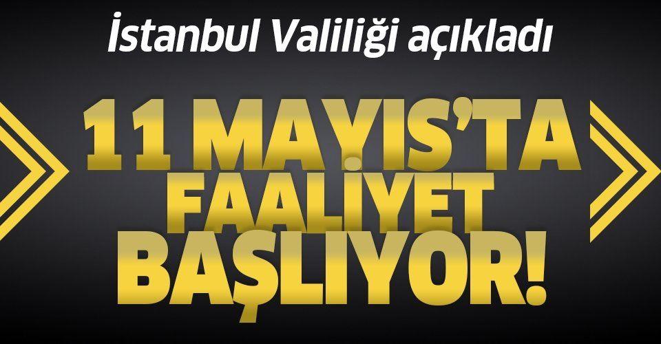 Son dakika: İstanbul Valiliği açıkladı: Pazarlar o tarihte yeniden faaliyete başlıyor