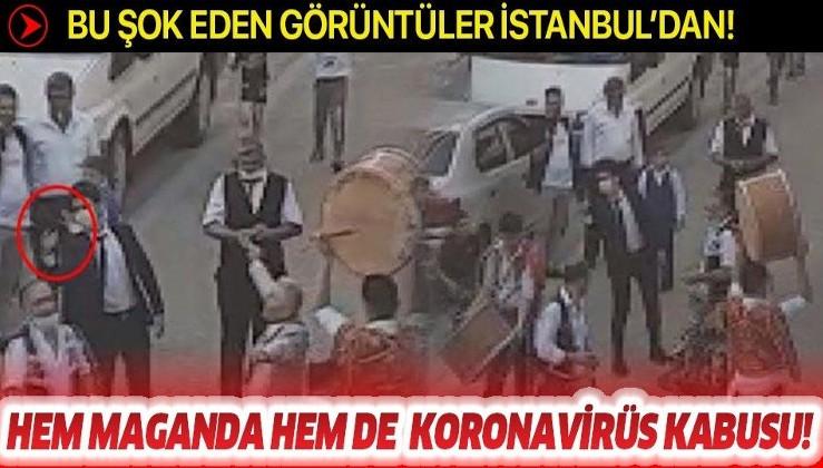 İstanbul'da korkunç görüntü! Hem virüs hem de maganda tehlikesi yaşandı!