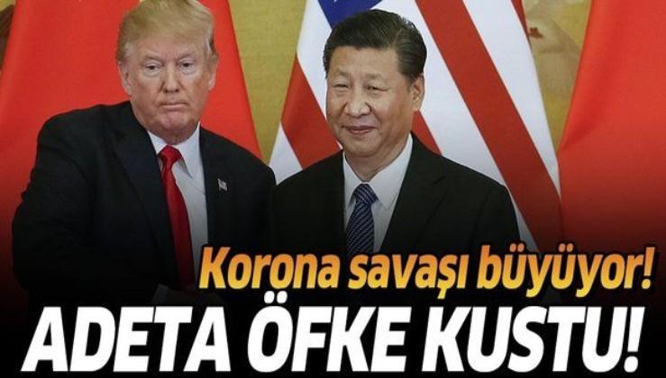 Son dakika: Çin'den ABD Başkanı Donald Trump'a çok sert korona tepkisi.