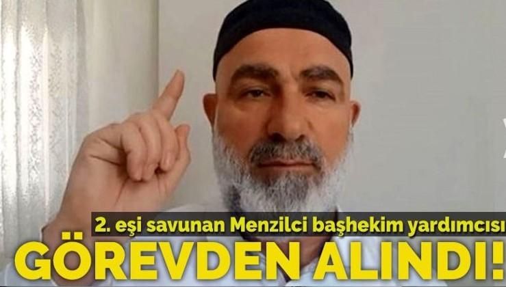 Cumhuriyet karşıtı Ali Edizer görevden alındı