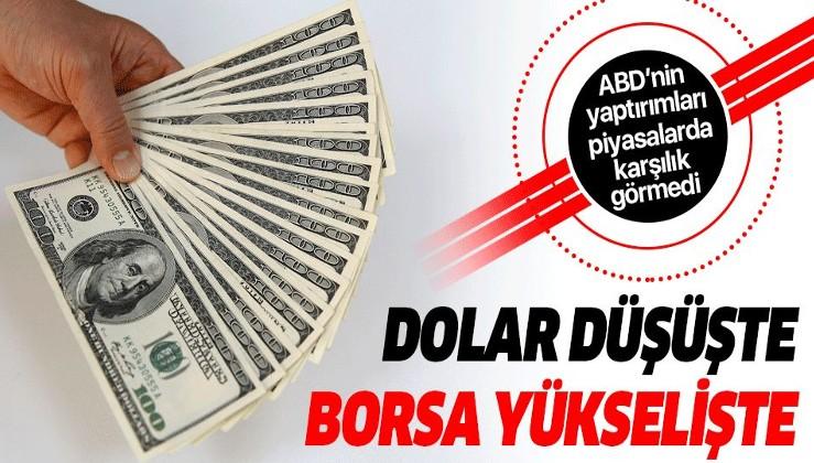 Son dakika: Dolar düşüşte, borsa yükselişte! ABD yaptırımları Türk Lirası'nı etkilemedi.