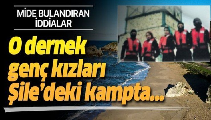 İstanbul'da Genç Denizciler Dayanışma Derneği'nin 15-17 yaşındaki kız öğrencilere Şile'deki kampta cinsel istismarda bulunduğu ortaya çıktı