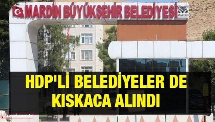 HDP'li belediyeler de kıskaca alındı