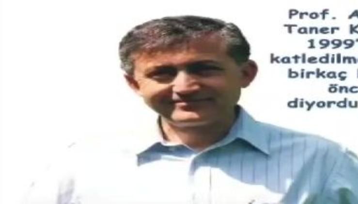 ABD Gladyosunun Türkiye'yi bölmek için katlettiği Prof. Dr. Ahmet Taner Kışlalı hocamızı saygı ve özlemle anıyoruz.
