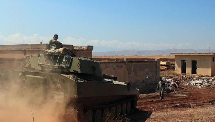 Suriye Ordusu İdlib'de stratejik bölgeyi kontrol altına aldı