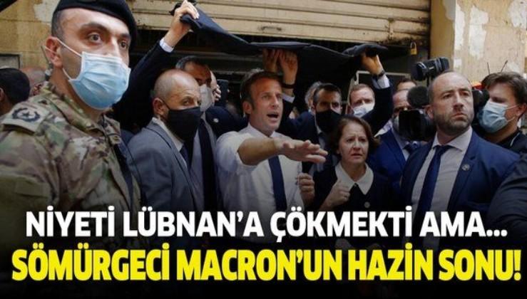 Sömürgeci Macron'un Lübnan adımı çıkmaza girdi!