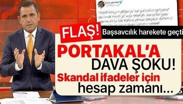 Son dakika: FOX TV sunucusu Fatih Portakal'a dava şoku! Başsavcılık harekete geçti