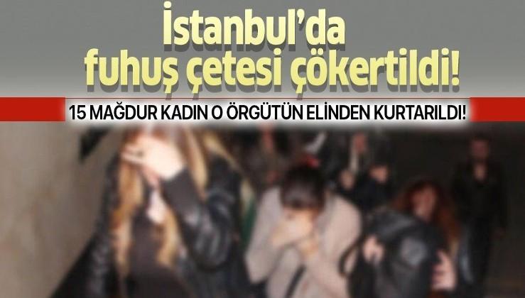 Son dakika: İstanbul'da fuhuş çetesine operasyon! Örgüt elebaşı tutuklandı...