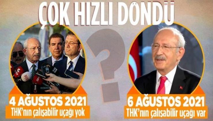 Akill, Akill hani senin babandım bir karar ver: Kılıçdaroğlu yine kendisiyle çelişti: THK'da uçacak uçak var mı yok mu?