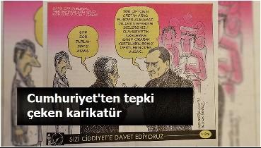 Cumhuriyet Gazetesi'nin karikatürü tepki çekti