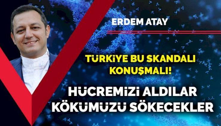 Türkiye bu skandalı konuşmalı! Hücremizi aldılar, kökümüzü sökecekler