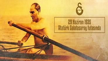 """Atatürk: """"Bütün Galatasaraylıların gözlerinden öperim"""""""