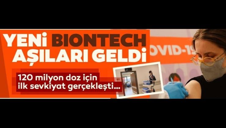 Son dakika: 120 milyon doz BionTech aşısının ilk partisi geldi! Uçak Ankara'ya indi...