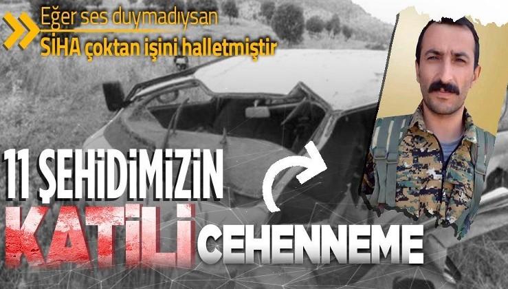 Afrin'de şehit edilen 11 askerimizin katiliydi! PKK/YPG'nin Suriye sorumlusu Renas Roj kod adlı Selahaddin Şahabi öldürüldü
